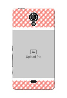 Sony Xperia T LTE (LT30a) Pink Pattern Mobile Case Design