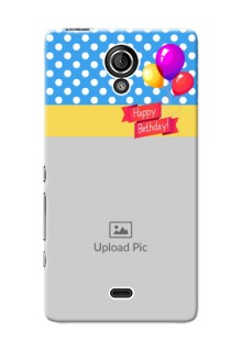 Sony Xperia T LTE (LT30a) Happy Birthday Mobile Back Cover Design