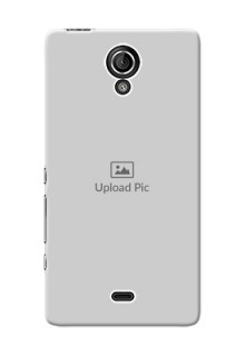 Sony Xperia T LTE (LT30a) Full Picture Upload Mobile Back Cover Design