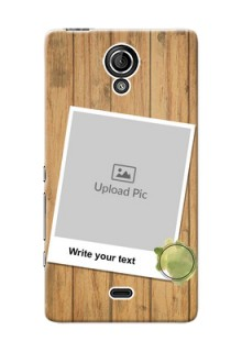 Sony Xperia T LTE (LT30a) 3 image holder with wooden texture  Design