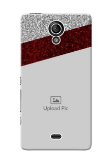 Sony Xperia T LTE (LT30a) 2 image holder with glitter strip Design