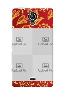 Sony Xperia T LTE (LT30a) 4 image holder with mandala traditional background Design