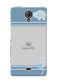 Sony Xperia T LTE (LT30a) kids design icons with  simple pattern Design Design