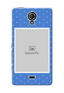 Sony Xperia T LTE (LT30a) 2 image holder polka dots Design