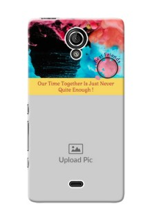 Sony Xperia T LTE (LT30a) best friends quote with acrylic painting Design