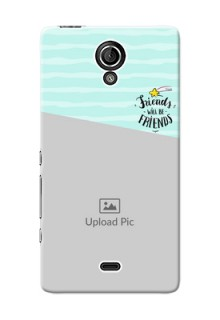 Sony Xperia T LTE (LT30a) 2 image holder with friends icon Design
