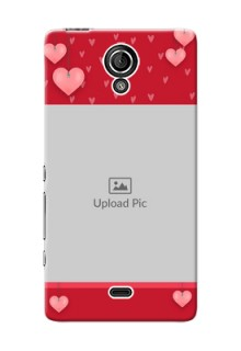 Sony Xperia T LTE (LT30a) valentines day couple Design