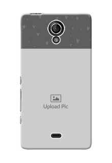 Sony Xperia T LTE (LT30a) love design with heart Design Design