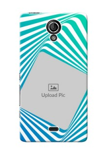 Sony Xperia T LTE (LT30a) abstract spiral Design