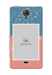 Sony Xperia T LTE (LT30a) 2 colour backdrop with music theme Design Design