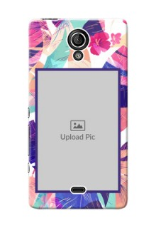 Sony Xperia T LTE (LT30a) abstract floral Design