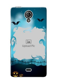 Sony Xperia T LTE (LT30a) halloween design with designer frame Design