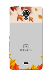 Sony Xperia T LTE (LT30a) autumn maple leaves backdrop Design