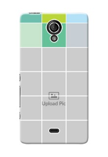 Sony Xperia T LTE (LT30a) white boxes pattern Design