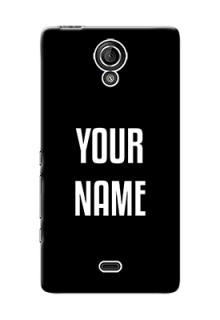 Xperia T Lte (Lt30A) Your Name on Phone Case