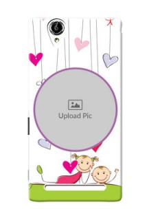 Sony Xperia T2 Cute Babies Mobile Cover  Design