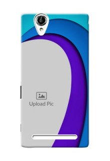 Sony Xperia T2 Simple Pattern Mobile Case Design