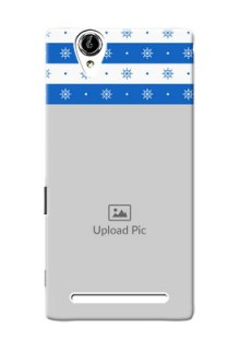 Sony Xperia T2 Snow Pattern Mobile Back Case Design