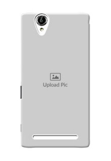 Sony Xperia T2 Full Picture Upload Mobile Back Cover Design