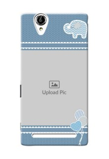 Sony Xperia T2 kids design icons with  simple pattern Design Design