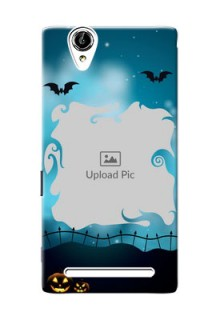 Sony Xperia T2 halloween design with designer frame Design