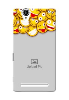 Sony Xperia T2 smileys pattern Design Design