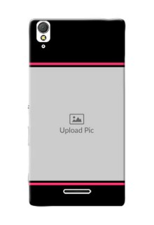Sony Xperia T3 Photo With Text Mobile Case Design
