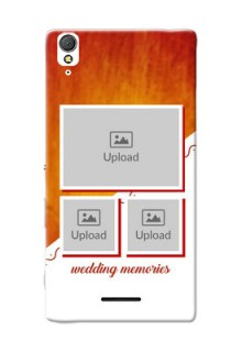 Sony Xperia T3 Wedding Memories Mobile Cover Design