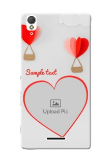 Sony Xperia T3 Love Abstract Mobile Case Design