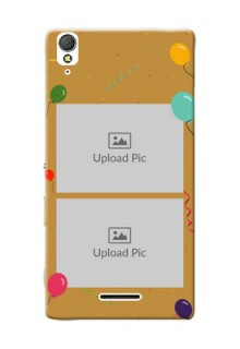 Sony Xperia T3 2 image holder with birthday celebrations Design