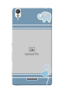 Sony Xperia T3 kids design icons with  simple pattern Design Design