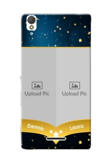 Sony Xperia T3 2 image holder with galaxy backdrop and stars  Design