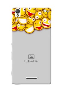 Sony Xperia T3 smileys pattern Design Design