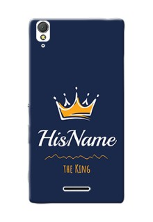 Xperia T3 King Phone Case with Name