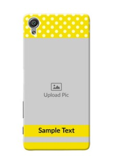 Sony Xperia X Bright Yellow Mobile Case Design