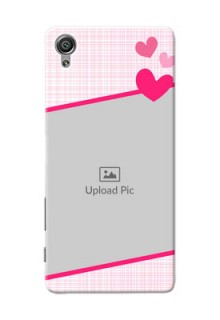 Sony Xperia X Pink Design With Pattern Mobile Cover Design
