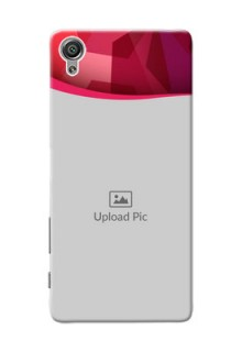 Sony Xperia X Red Abstract Mobile Case Design