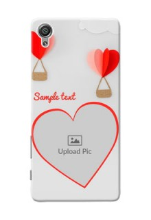 Sony Xperia X Love Abstract Mobile Case Design