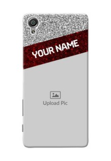 Sony Xperia X 2 image holder with glitter strip Design