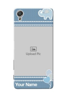 Sony Xperia X kids design icons with  simple pattern Design Design