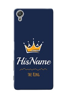 Xperia X King Phone Case with Name