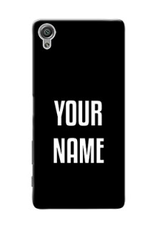 Xperia X Your Name on Phone Case