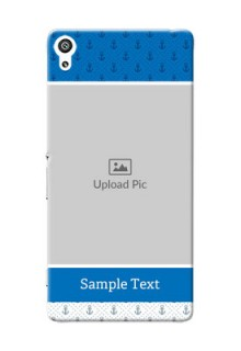 Sony Xperia XA Ultra Blue Anchors Mobile Case Design