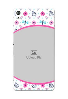 Sony Xperia XA Ultra Colourful Flowers Mobile Cover Design