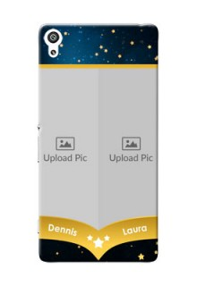Sony Xperia XA Ultra 2 image holder with galaxy backdrop and stars  Design