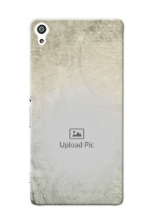 Sony Xperia XA Ultra vintage backdrop Design