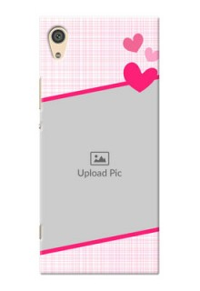 Sony Xperia Xa1 Ultra Pink Design With Pattern Mobile Cover Design