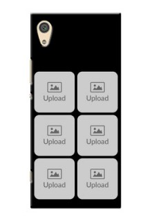 Sony Xperia Xa1 Ultra Multiple Pictures Mobile Back Case Design