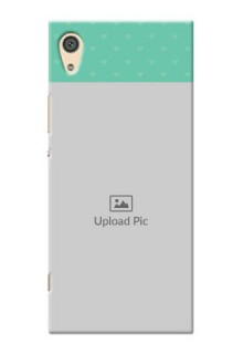Sony Xperia Xa1 Ultra Lovers Picture Upload Mobile Cover Design