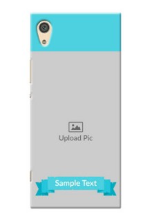 Sony Xperia Xa1 Ultra Simple Mobile Back Cover Design
